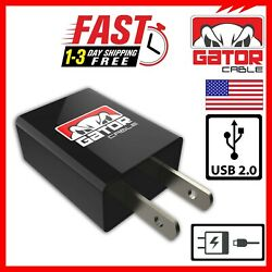 USB Wall Home Charger Power Plug AC Fast Charge For Mobile Phone iPhone Android $6.99