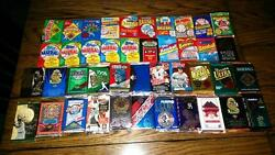 Awesome Lot of 100 Unopened Old Vintage Baseball Cards in Wax Cello Rack Packs!
