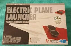 4M Electric Plane Launcher Kit Paper Plane Designs Sealed in Package $16.95