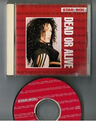 DEAD OR ALIVE Star Box JAPAN CD ESCA5864 w 44 p PS BOOKLET 1993 limited issue $49.99