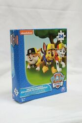 Paw Patrol Shaped Puzzle 24 Piece Nickelodeon For KIDS Fun Game And Activities $9.99