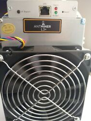 Antminer L3+ Miner - Litecoin ASIC Scrypt - 504MHs Tested Fully Working USA $79.00