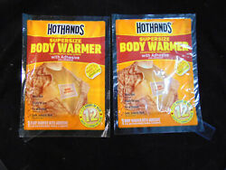HotHands Supersize Body Warmer w Adhesive 2 pack $10.00