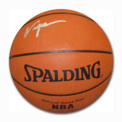 Tracy McGrady Autographed Spalding Official NBA Basketball C $150.00