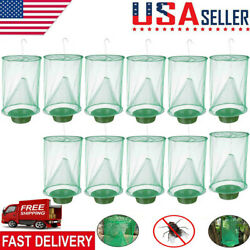 Pest Control Fly Insect Trap Reusable Hanging Folding Catcher Net KillerCage Lot $6.55