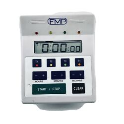 FMP 4 in 1 Digital 4 Channel Commercial Kitchen Countdown Timer 151 7500