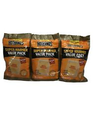30 Large Hothands Body And Super Warmers. Value Pack 18 Hours Of Heat $21.95