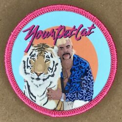 Phish Your Pet Cat Patch (2 Patches) Tiger King Joe Exotic Netflix