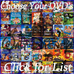 Disney Pixar DVD Movies Lot Free Shipping when you order ten or more titles $7.29