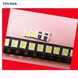 100Pcs 3528 SMD Lamp Beads 3V Specially for LG LED TV Backlight StripRepair TV $12.58