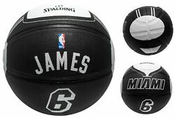 PRO Spalding Outdoor performance Basketball street Game Ball Lebron James 29.5 $21.99