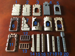 Replacement Vintage Playmobil Medieval Castle Wall Parts You choose the pieces $1.49