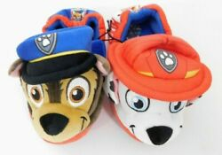 Paw Patrol Chase Marshall Little Boys Slipper Shoe with Head Face 3D $15.99