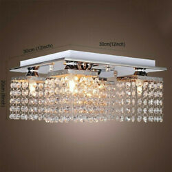 Modern Crystal Chandelier 5 Ceiling Light Lamp Pendant Fixture Lights Decoration