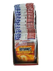 Hot Hands Hand Warmers • 40 Pairs  80 Individual •  Exp. 0923 $24.50