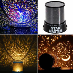 Colourful Star Projector Light Master LED Starry Night Sky Projector Kids Lamp $16.95