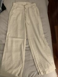 Old Navy Beach Relax Pants Beige Thin Brand New Size XS $12.00