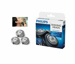 Philips Norelco SH50 Replacement Shaving Heads NEW Sealed $16.99