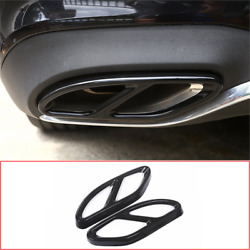 Exhaust Muffler Cover Trim for Mercedes Benz GLC C E Class W205 W213 W176 16-19 $28.40
