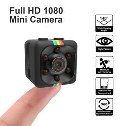 SQ11 Mini Camera 1080P Sport DV Mini Infrared Night Vision Monitor Small Camera $9.02