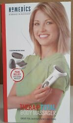 Homedics Thera-P Total Body Massager 3 Custom Message Heads PRE-OWNED  $16.99