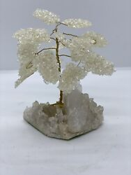 Vintage Tree with Metal and natural stones $20.00