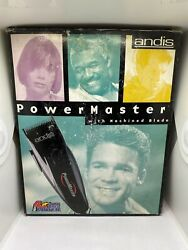 Vtg Andis Power Master With Machine Blade Clipper 4 Times The Power NEW $99.99