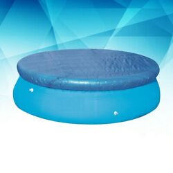 Round Swimming Paddling Family Easy Set Pool Cover Protector Case 8101215ft ❤ $32.75
