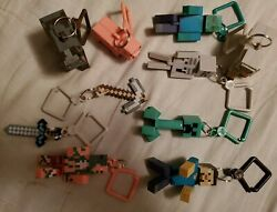 Jinx Series 1 Mining toy action figures key chains set of 10 characters $50.00