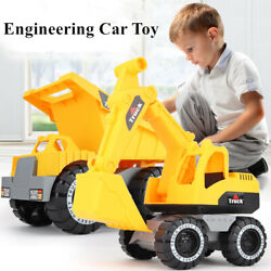 Large Engineering Construction Truck Excavator Digger Vehicle Car Kids Toy Gift $21.69