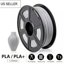 Grey PLA+PLA 1kg 3D Printer Filament 1.75mm  PLA PLUS Plastic Filament Material $39.00