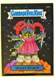 2014 GARBAGE PAIL KIDS GPK CHROME SERIES 2 BLACK REFRACTOR 63A SPACEY STACY $24.95