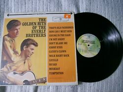 The Everly Brothers LP Golden Hits  Warner Bros. WS 1471 VG+ $7.95