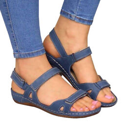 Womens Premium Orthopedic Open Toe Sandals Summer Beach Casual Daily Shoes Size $22.03