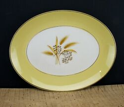 Vintage Century Service Autumn Gold Oval Serving Platter 11.5quot; China Dinnerware $15.00