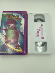 Barney's Beach Party VHS 2002 Tape Clam Shell Case Never seen on TV 50 Minutes $6.99