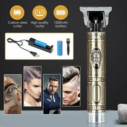 Kemei Electric Hair Clipper Pro Li Liner Groomi Cordless Cutting T-Blade Trimmer $31.01