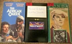 Ma amp; Pa Kettle African Queen Grapes of Wrath 3 VHS old wonderful movies stars $15.00