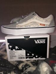 No Comply x Vans x Daniel Johnston Old Skool Pro Size 7.5 MENS IN HAND FREESHIP $113.99