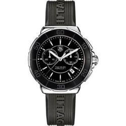 Tag Heuer CAH1210.FT6024 Formula 1 44MM Men's Chronograph Black Rubber Watch