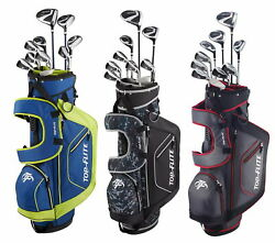 Top Flite XL 13-Piece Complete Golf Set w/ Bag Right Handed - 2020 - Pick Color $219.95