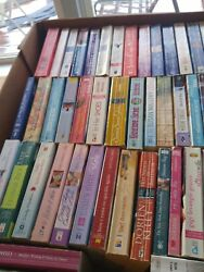 Lot of 20 Historical ROMANCE Paperback Books Popular Authors Love