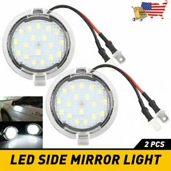 2X LED Side Mirror Puddle Lights Fit For Ford F150 Edge Explorer Kuga Expedition $10.99