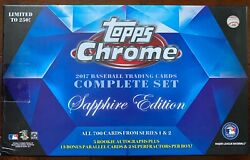 2017 Topps Chrome Sapphire Pick Your Player 400-599 Only 250 of Each Card Made $15.00