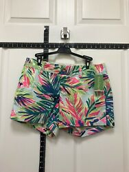 Lilly Pulitzer Callahan Shorts Multi Island Time Size 8 NWT $64.00