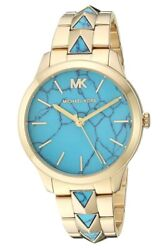 Michael Kors Women's MK6670 Runway Mercer Gold Stainless Steel Strap