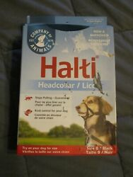 Halti Head Collar Head Halter Collar for Dogs Stop Pulling Sz 0 Neck11.5-14in $12.99