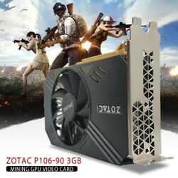 Zotac Mining P106-090 3GB GDDR5 ZT-M10610A-10B Video Card GPU $42.99