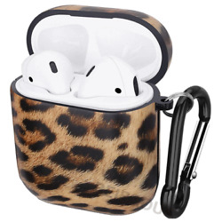 Cute Leopard Print Case Cover For AirPods 1 2 Soft TPU Shockproof For Girl Women $9.15