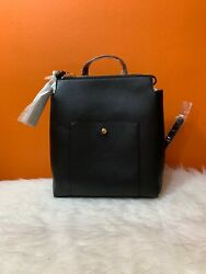 NWT SOLE SOCIETY Faux Leather Backpack Black Nordstrom#x27;s $39.00